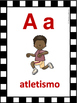 CARTELES DEL ABECEDARIO DE DEPORTES. Sport Alphabet Poster