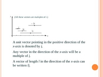 CARTESIAN COMPONENTS OF VECTORS