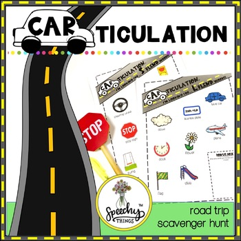CARticulation : No Prep Articulation Activity