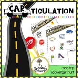 CARticulation - Phoneme Road Trip Scavenger Hunt - Speech Therapy