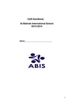 CAS Handbook