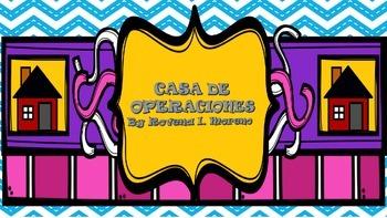 CASA DE CONCEPTOS/PROBLEM SOLVING KEY WORDS