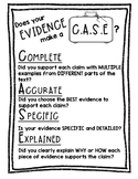 CASE Writing Strategy Poster