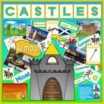 CASTLES MEDIEVAL HISTORY KNIGHTS FEUDALISM TEACHING RESOURCE KEY STAGE 1-2