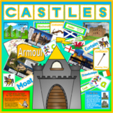 CASTLES MEDIEVAL HISTORY KNIGHTS FEUDALISM TEACHING RESOURCE KEY STAGE 1-2