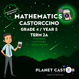 Grade 4 (UK Year 5) | Fractions | Term 2A Castorccino Pack