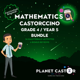 Grade 4 (UK Year 5) | Mathematics BUNDLE | All Terms Castorccino Packs