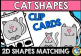 CAT SHAPES CENTER (KINDERGARTEN GEOMETRY ACTIVITIES)