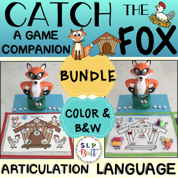 CATCH THE FOX - GAME COMPANION, BUNDLE (ARTICULATION & LANGUAGE)