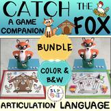 CATCH THE FOX - GAME COMPANION, BUNDLE (ARTICULATION & LANGUAGE)