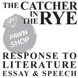 THE CATCHER IN THE RYE Essay Prompts & Grading Rubrics