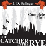 THE CATCHER IN THE RYE Unit Plan - Novel Study Bundle - Li