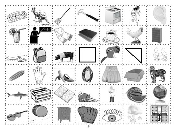 CATEGORY CUT-UPS :Vocabulary Building and Classification Cut n' Paste Worksheets