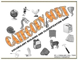 CATEGORY SORT :Vocabulary Building and Classification GAME
