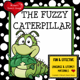 CATERPILLAR BUTTERFLY Early Reader Literacy Circle