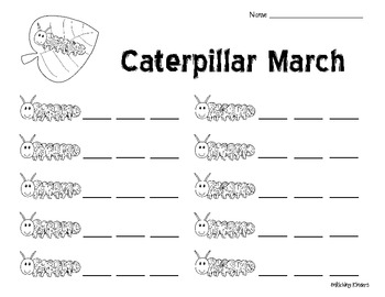 NUMBER ORDER: CATERPILLAR MARCH