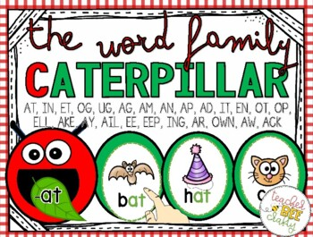 CATERPILLAR WORD FAMILIES