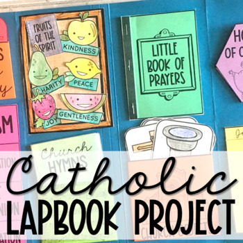 CATHOLIC Lapbook Project | Interactive Notebooks | Religious Education