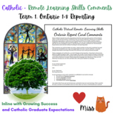 CATHOLIC REMOTE LEARNING - Ontario Learning Skills Comment