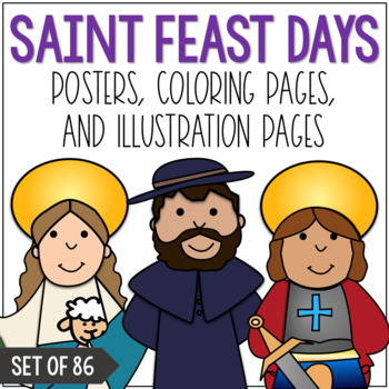 All Saints Day Coloring Page Worksheets Teaching Resources Tpt
