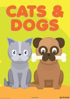 CATS & DOGS UNIT - TODDLER CURRICULUM