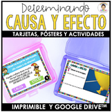 SPANISH: CAUSE AND EFFECT (CAUSA Y EFECTO)-  Differentiate