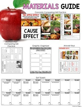 CAUSE AND EFFECT is like an Apple (Eat. Read. Think.)