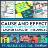 CAUSE AND EFFECT read aloud lessons and activities