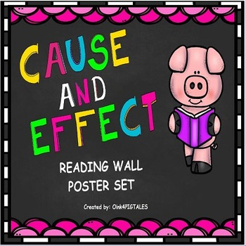 CAUSE and EFFECT COLORFUL POSTER SET