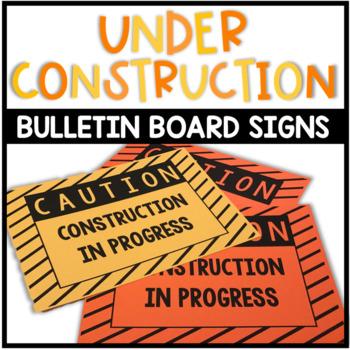 CAUTION Work/Construction in Progress