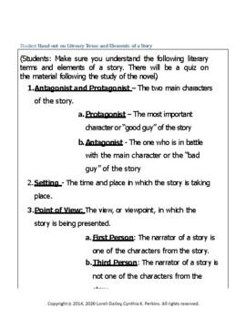 All About Aldo Literature and Grammar Unit