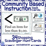 CBI Shopping Scavenger Hunt Task Cards