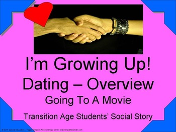 CBI Social Story Dating - Going To A Movie OHI/ODD/CP/ID/A