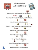 CBI Trip Fire Station Social Story and ?s