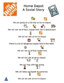CBI Trip Home Depot Social Story and ?s