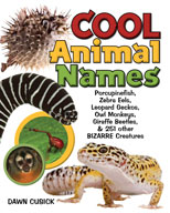 Cool Animal Names: Porcupine Fish, Zebra Eels, Leopard Geckos, and 251 Other BIZARRE Creatures