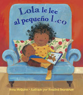 Lola lee para Leo (Spanish Edition)