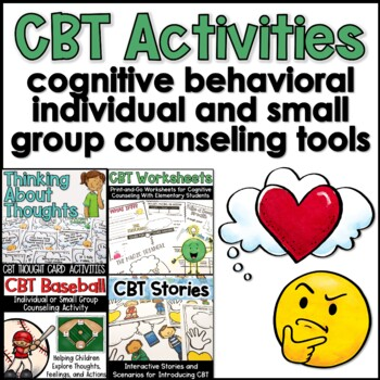 CBT Activities for Elementary Students BUNDLE
