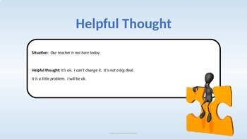 CBT Anxiety Prevention; Helpful Thought Practice Game