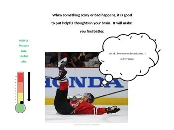 CBT Anxiety Prevention; Toews teaches about Helpful and Unhelpful Thoughts