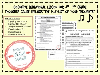 CBT Counselor Lesson Thoughts Cause Feelings Changing Your Thought Playlist