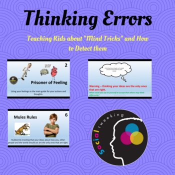 CBT; Dirty Dozen Mind Tricks; Thinking Errors; Perspective Taking; Social Skills