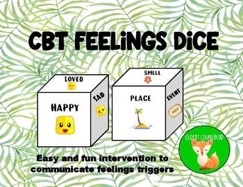 CBT Feelings Dice