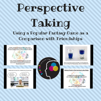 CBT; Thinking Errors; Perspective Taking; Making Friends;