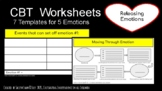 """CBT Worksheets - """"Releasing Emotion"""""""