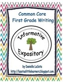 CC 1st Grade Informative and Expository Writing Unit