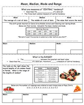CC 6th Grade Math Unit BUNDLE: Data & Statistics