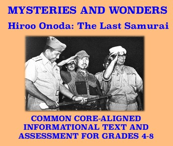 Mysteries and Wonders Passage and Assessment #11: The Last Samurai