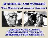 Mysteries and Wonders Passage and Assessment #5: The Mystery of Amelia Earhart
