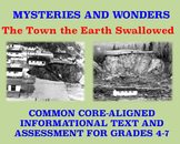 Mysteries and Wonders Passage and Assessment #4: The Town the Earth Swallowed